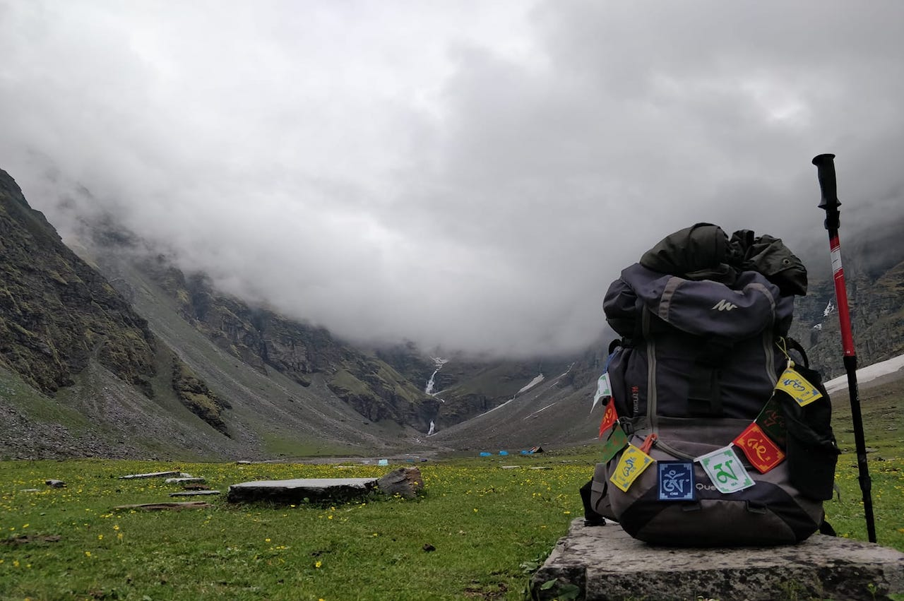 monsoon trekking