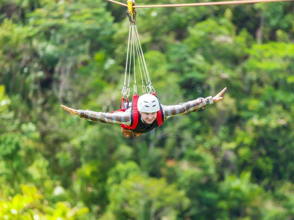 flying fox activities in rishikesh