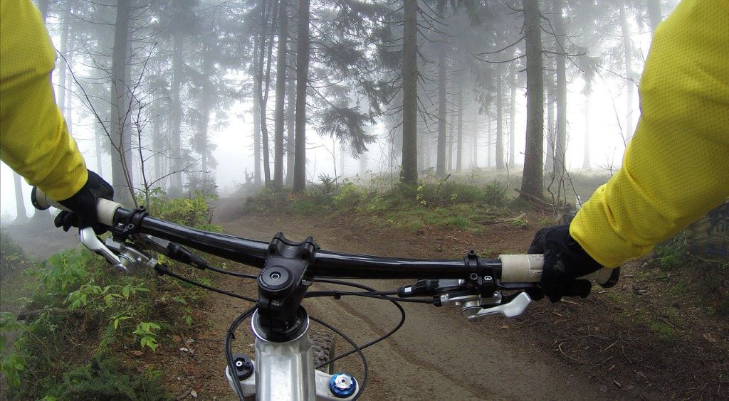 mountain biking in rishikesh