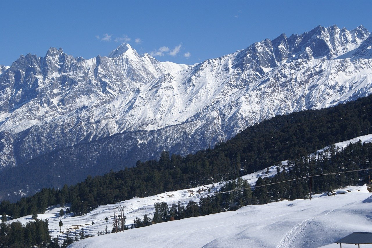 auli covered in snow