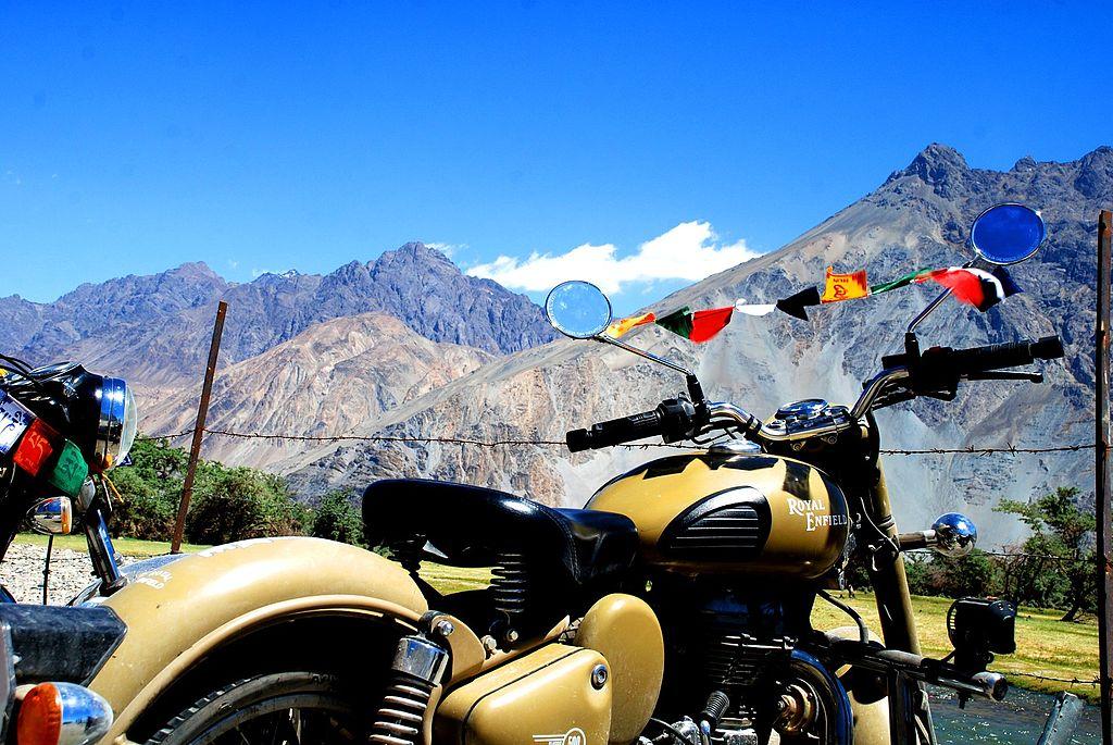 bike riding destination in india