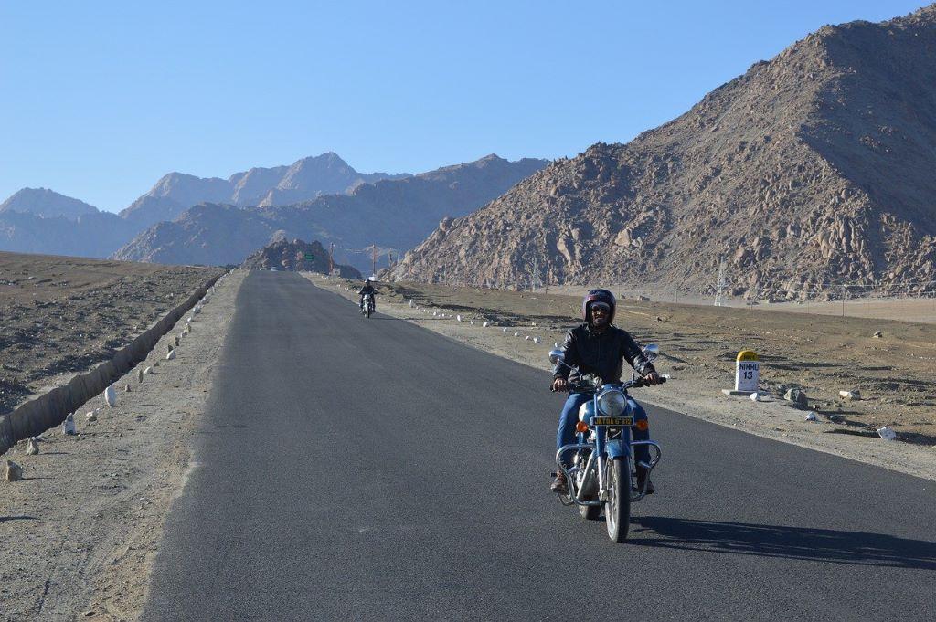 motorcycle tour india