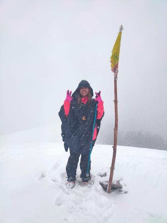 brahmatal trek summit