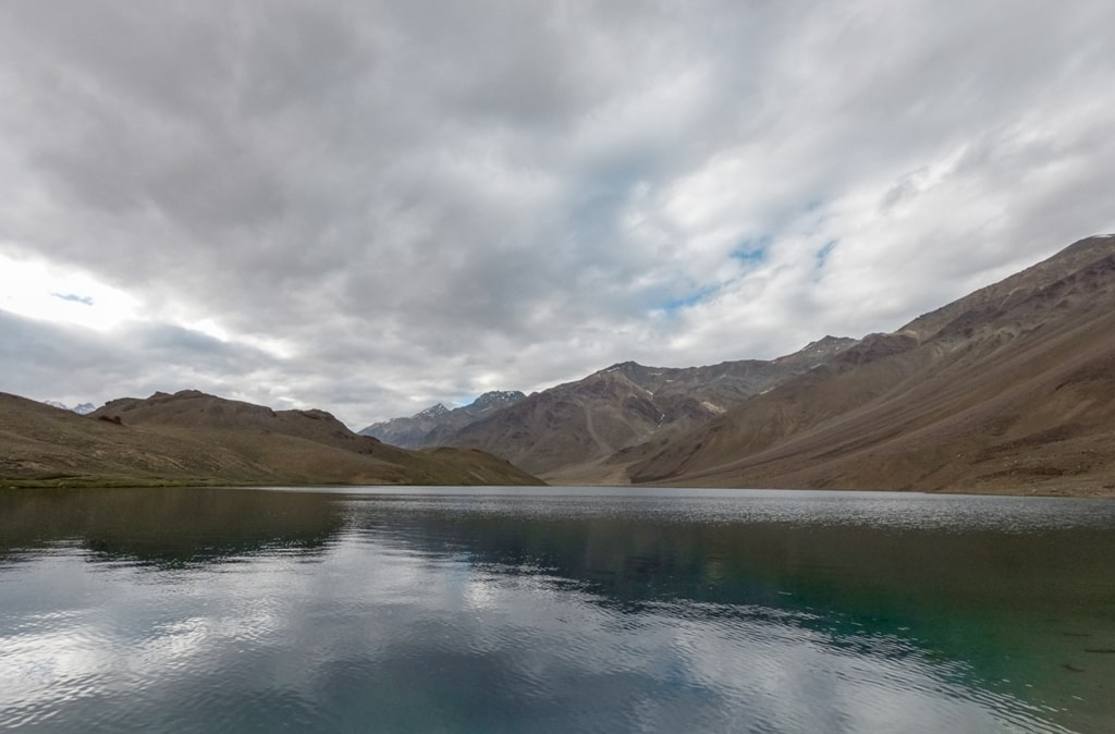 chandratal lake in monsoon