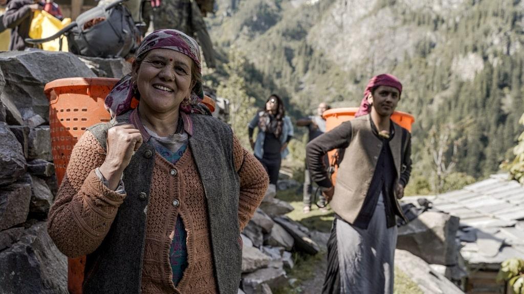 himalayan local people