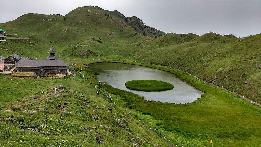 mystery of parashar lake