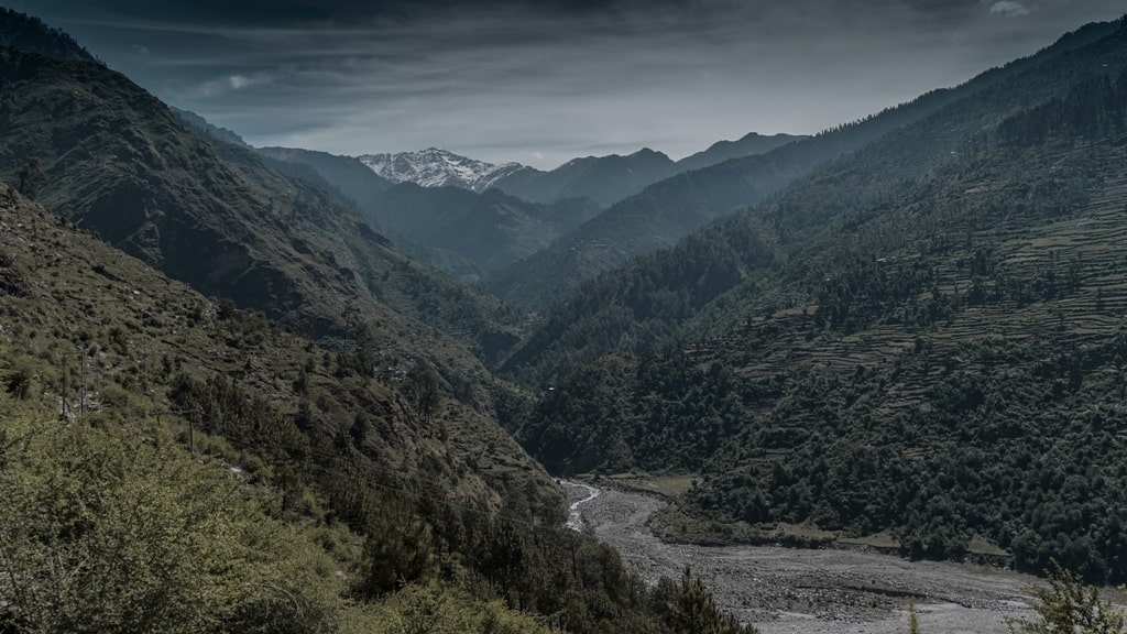 post monsoon in himalayas