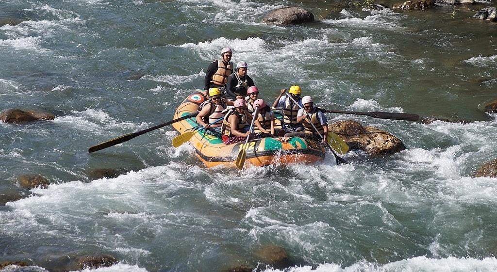 rafting in kasol