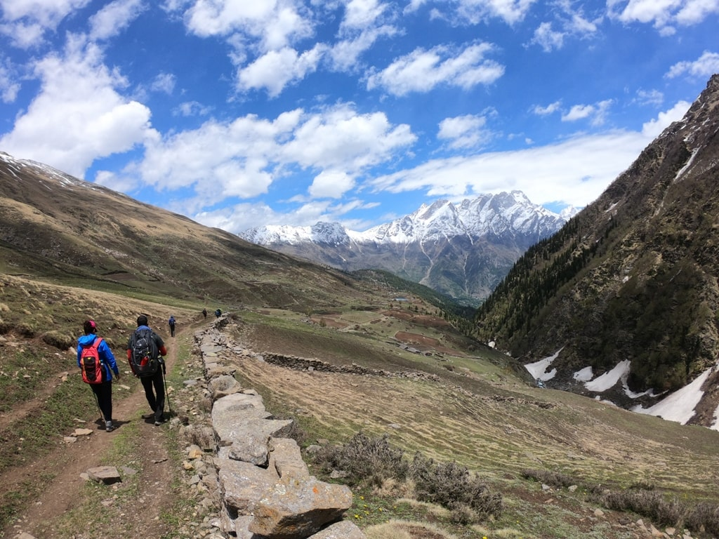 buran ghati trek trail