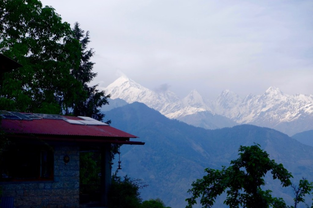 view from homestay at sarmoli