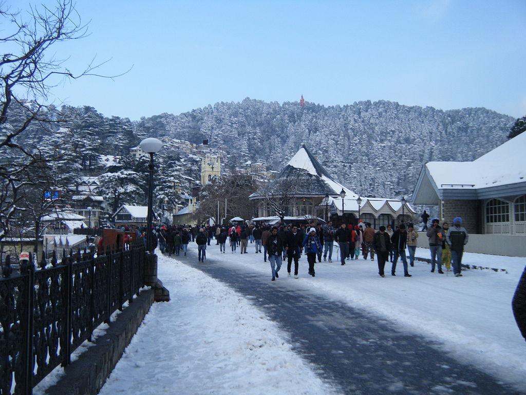 shimla in winter