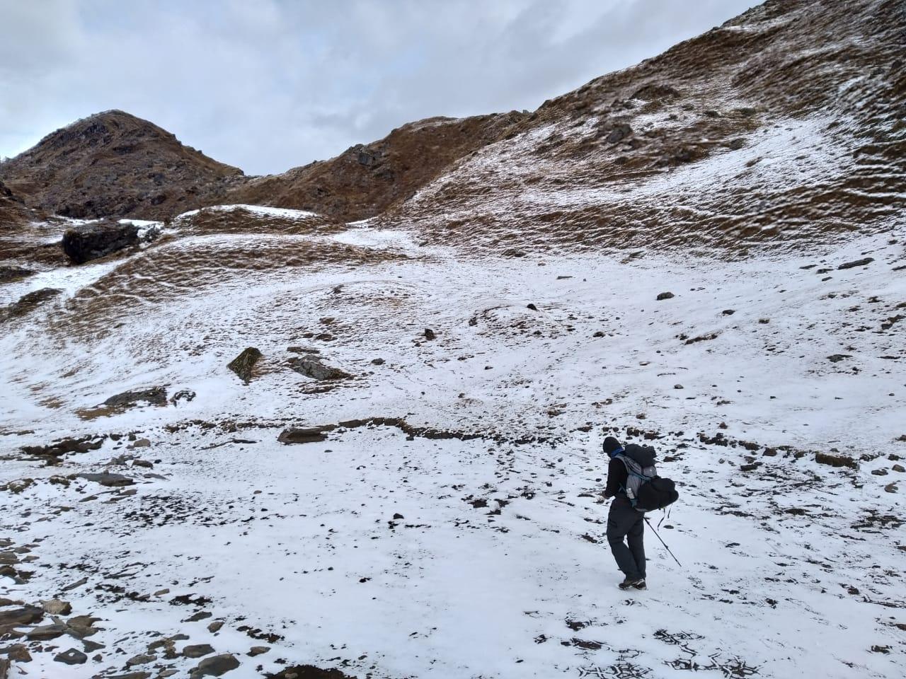winter treks in uttarakhand, brahmatal