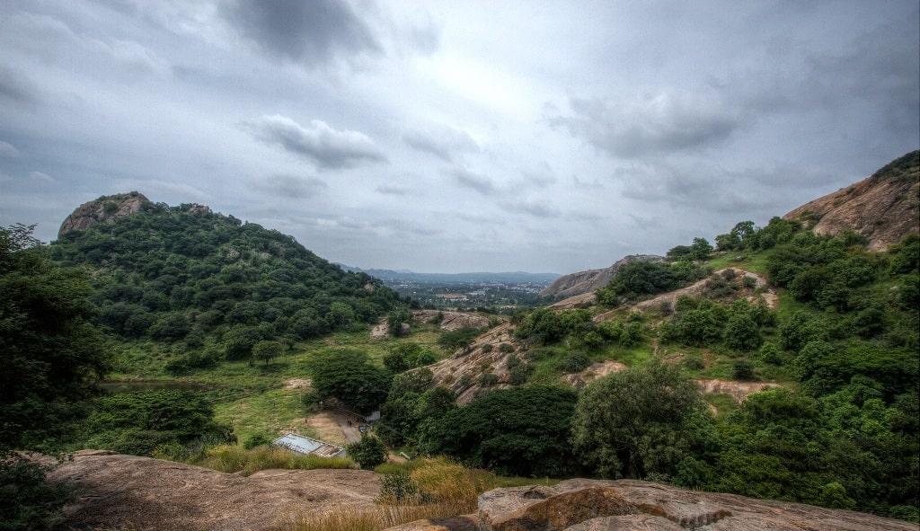 ramanagara hill trek