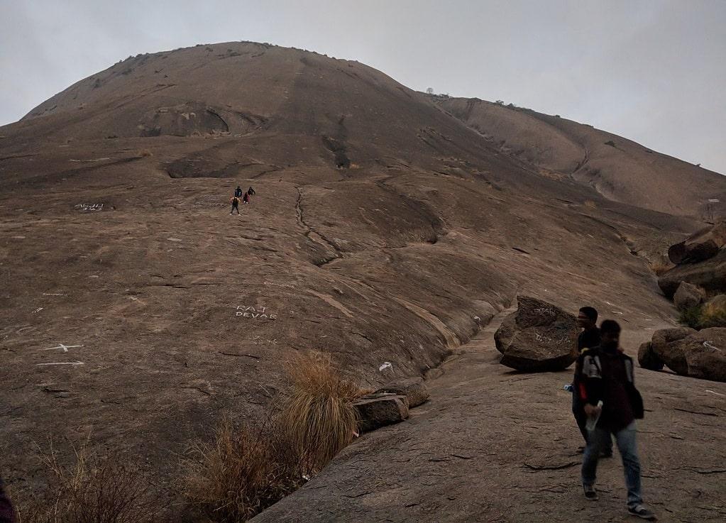 savandurga hill trek