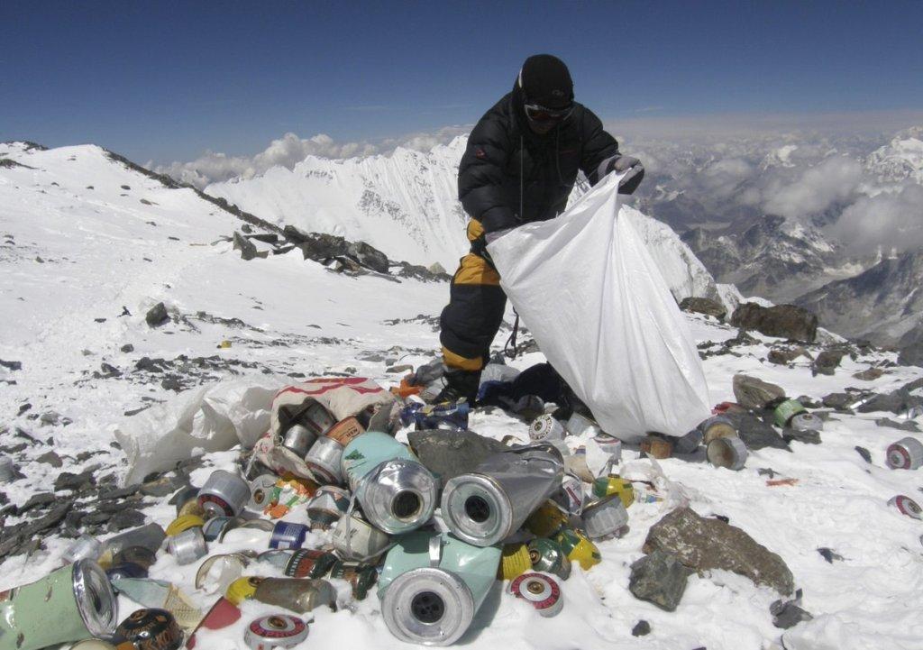 waste management during trekking