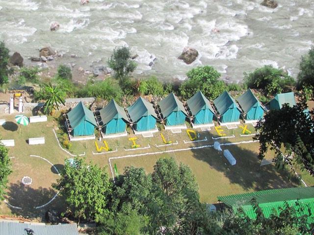 river side camp wildex in rishikesh