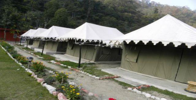 camping in rishikesh ghattu ghat