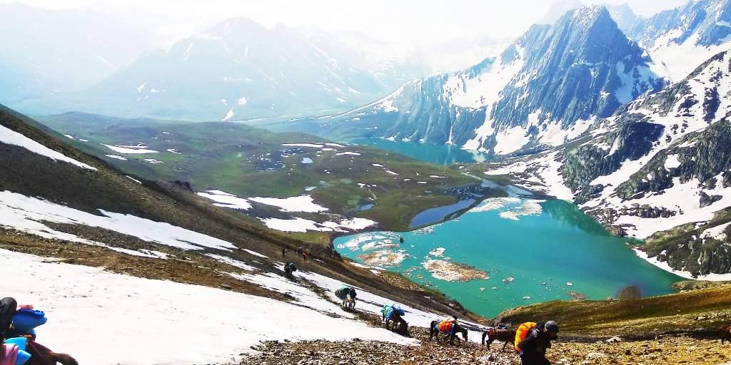 kashmir great lake trek